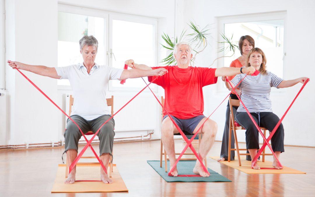 Der REHA-Sport geht Online! Gesundheitssport im Wohnzimmer